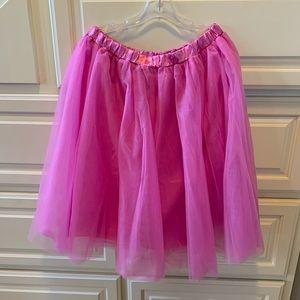 Pinkish Lavender Tulle Skirt XXL